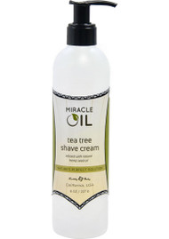 Miracle Oil Tea Tree Shave Cream by Earthly Body