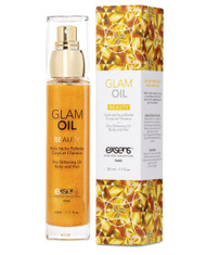 Dry Glittering Body and Hair Glam Oil by Exsens Paris