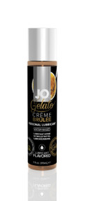 System JO-JO Gelato Flavored Water Based Lubricant-Creme Brulee 1 oz