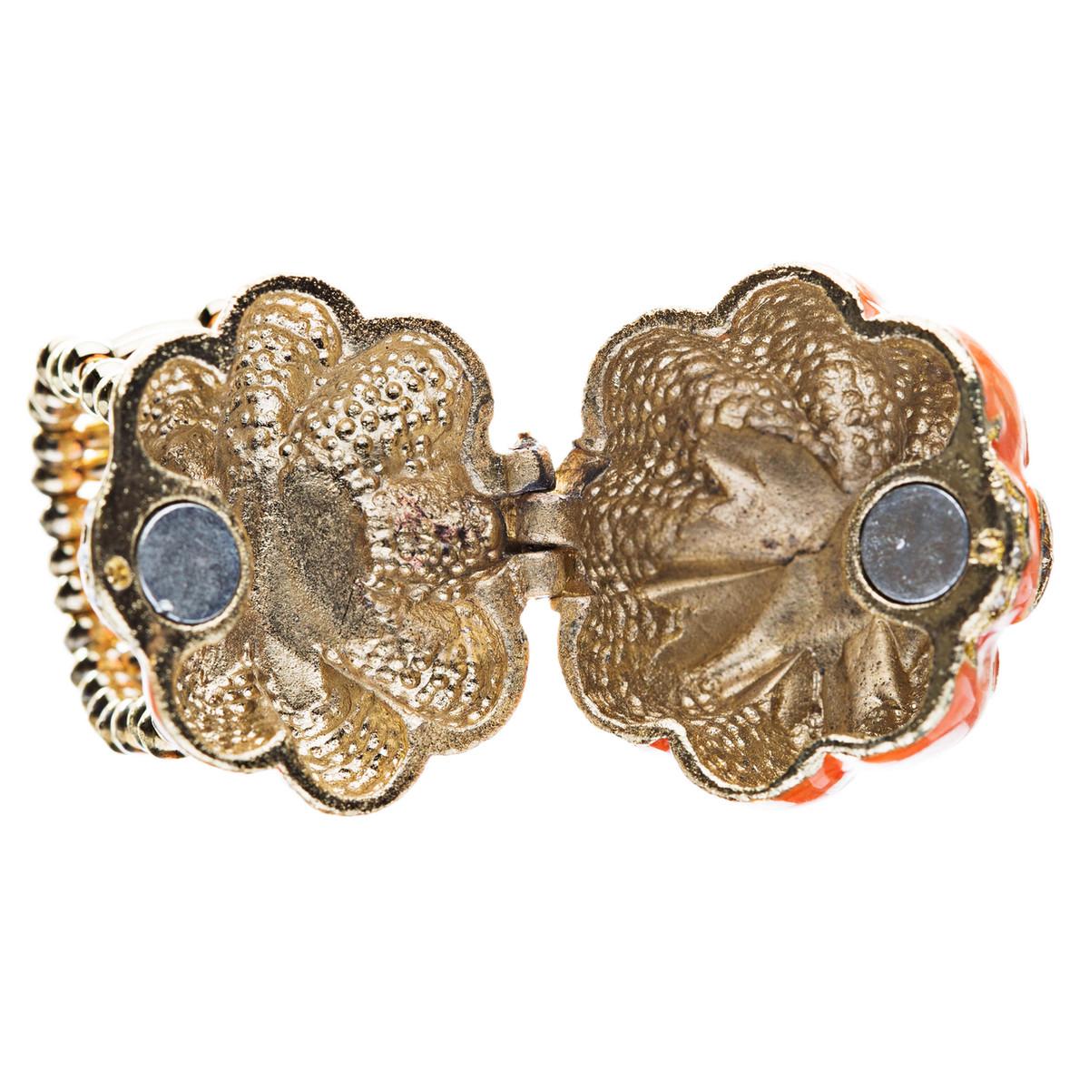 Accessoriesforever | Halloween Jewelry Locket Pumpkin Stretch Ring ...