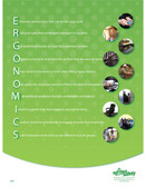 Ergonomics Informational Posters in ENGLISH  pic 1