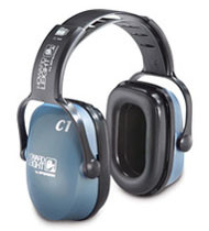 Bilsom Clarity C1 NRR 20 Slimline Ear Muffs # HL-C1 pic 1