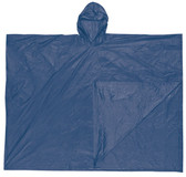 MCR Schooner Rain Poncho, 10 mil Thickness, Blue   pic 1