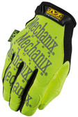 Mechanix Original Hi Viz Lime Gloves, Part # SMG-91 pic 2
