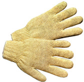 Cotton Polyester String Heavyweight Knit Gloves (Sold by Dozen) All Sizes