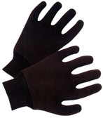 Brown Jersey Reversible Gloves Pic 1