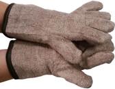 MCR Extra Heavy Weight Heat Glove Brown/White (PAIR)