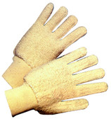 Terrycloth Hot Mill Gloves w/ Knit Wrist Pic 1