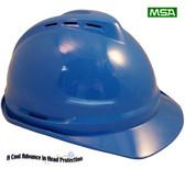 MSA Advance Vented Hard Hats  Blue
