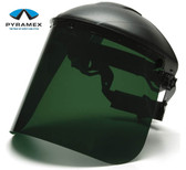 Pyramex Dark Green Faceshields pic 1