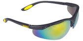 DeWALT Reinforcer Safety Glasses ~ Fire Mirror Lens