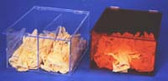 Glove Dispenser Amber Acrylic  Pic 1