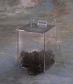Plastic Clear Hairnet Dispenser  Pic 1