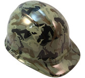 Camo Bootie Green Hydro Dipped Hard Hats Cap Style