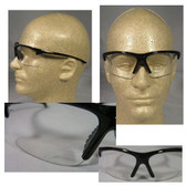 Olympic Optical 30.06 Reading Glasses ~ Black Frame, Clear Lens and 2.5 power