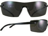 Smith and Wesson ~ Caliber Safety Glasses ~ Black Frame with Smoke Anti-Fog Lens