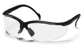 Pyramex Venture II ~ Black Frame ~ Fog Free Clear Lens