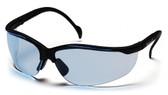 Pyramex Venture II ~ Black Frame ~ Infinity Blue Lens