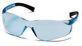 Pyramex Ztek Safety Glasses ~ Infinity Blue Lens