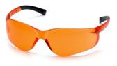 Pyramex Ztek Safety Glasses ~ Orange Lens