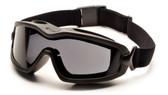 Pyramex V2G-XP Goggles ~ Fog Free Gray Lens