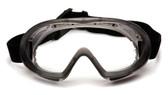 Pyramex Capstone Goggle ~ Gray Frame ~ Anti Fog Clear Lens