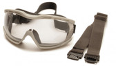 Pyramex Capstone Goggles with two straps