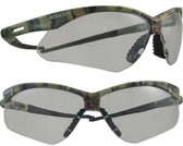 Jackson Nemesis CAMO Frame ~ Safety Glasses with Clear Anti-Fog Lens