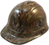Confederate Camo Hydro Dipped Hard Hats Cap Style ~ Oblique View