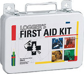 Logger's Kit First Aid ~ 16 unit, 71-Piece Kit, Plastic Case