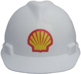 Multicolored Hard Hat Decals ~ A few examples of our work.