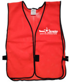 Add A Text Logo to Your Safety Vests (ONE COLOR)