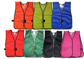 Economy Soft Mesh Safety Vests (All Colors)