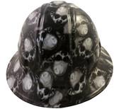 Mr Creepy Hydro Dipped Hard Hats Full Brim Style