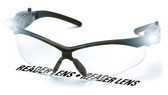 PMXtreme Fog Free Clear Safety Glasses w/ LED Lights, & 1.5 Bifocal Lens Front