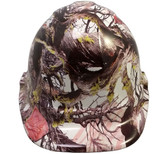 American Flag Camo Hydro Dipped Hard Hats Cap Style