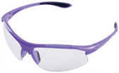 ERB Ella Safety Glasses with Purple Frame and Clear Lens