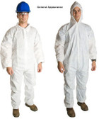 Promax SMS Coveralls with Hood, Boots, & Elastic Wrists