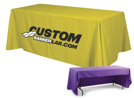 Delightful ... Custom Logo Table Covers. Image 1