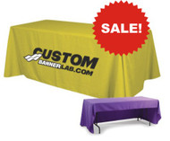 Custom Printed Tablecloth with Logo