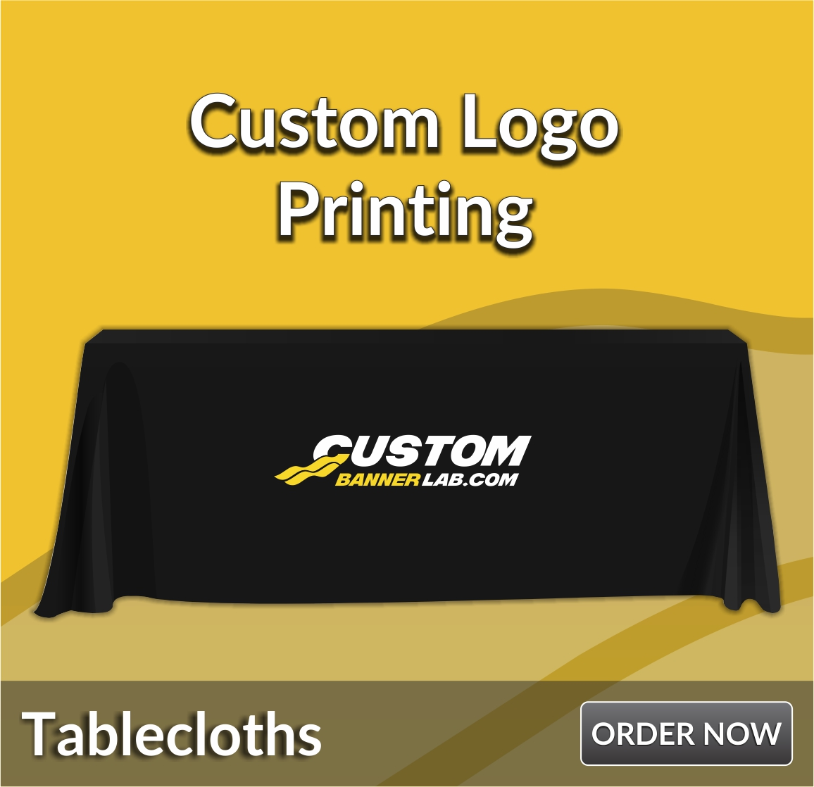 Trade Show Table Covers Custom Tablecloths Retractable