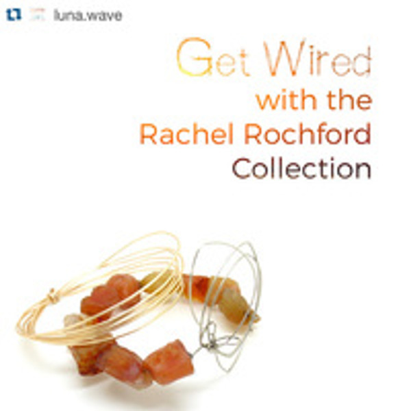 Rachel Rochford jewellery available on lunawave.co.uk