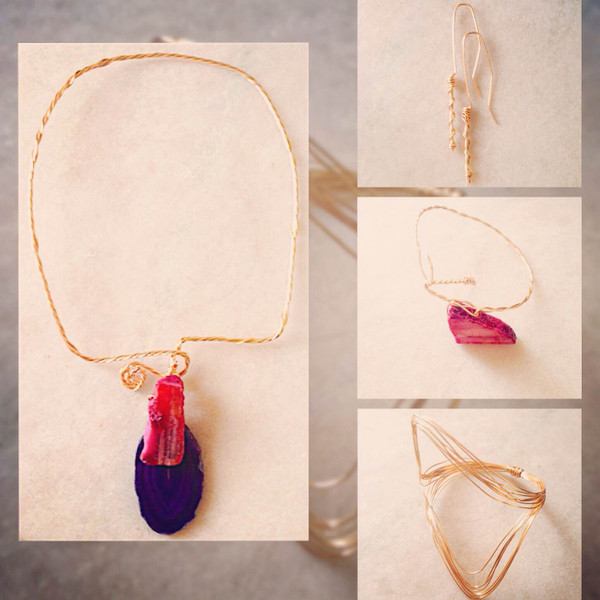 """Rachel Rochford Bespoke Jewellery for Trinidad Weddings """"Cocktails With The Publisher""""."""