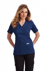 Mobb Empire Ties Back Scrub Top Sku:420T