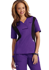 Mobb Active Flexi V-Neck Scrub Top Sku:424T