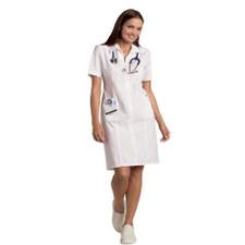 Mobb Zip front Scrub Dress Sku:PD570