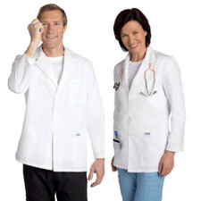 Mobb Unisex half Length Lab Coat Sku:L203