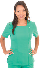 4-Way Stretch Zippered Top Sku:590