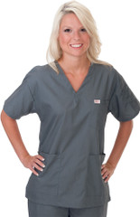 Unisex V-Neck Scrub Top Sku:221