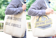 Big Double-Sided  Eco-Canvas Tote